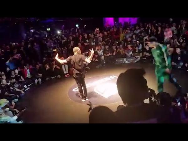 Abdou m.s.t.r / Final battle Bboy Lilou vs Bboy Menno