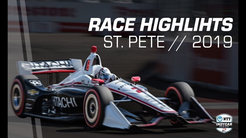 2019 NTT IndyCar Series: St. Pete Race Highlights