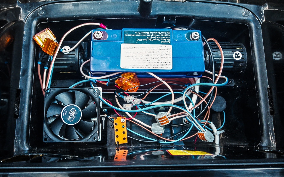 Замена электромоторов