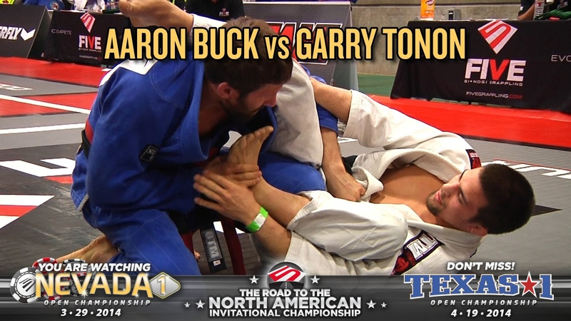 FIVE Grappling Nevada 1 Aaron Buck vs Garry Tonon (Men Welterweight Black Belt Final)