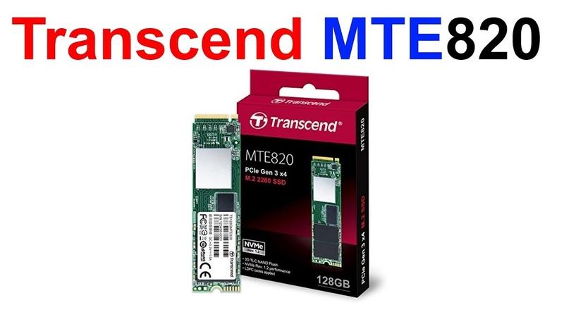 Обзор SSD M 2 диска Transcend MTE820 128Gb Как выбрать быстрый M 2 для своей материнской платы смотреть онлайн без регистрации