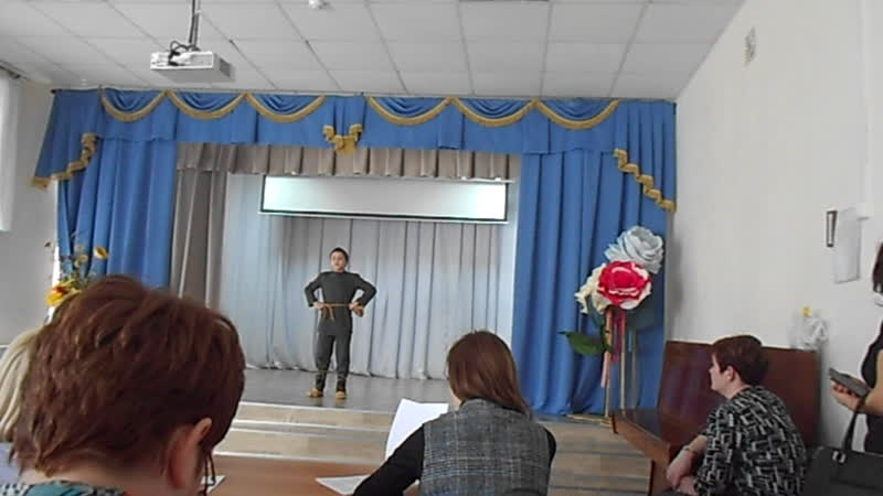 2018.11.13 Районный конкурс Шаг к Парнасу Карауланов Роман 3а класс