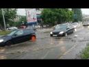 Челябинск утонул в дождевой воде и в бездорожье