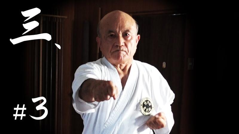 Zenpo Shimabukuro senseis seminar 3 | Shorin-ryu | The 1st Okinawa Karate International Tournament