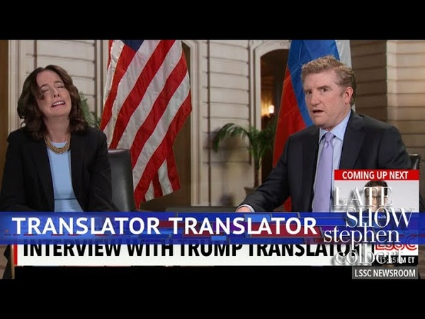 The First Interview With Trumps Translator