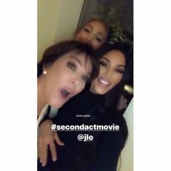 """Fan Page for Queen JLO👑 on Instagram: """"Kim's family watch Second act😍#jlo_Dec18 #kimkardashian #secondact /@jlo #jlo #Jenniferlopez #jlovers #jlov..."""