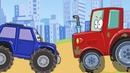 Мастерская БиБи Топ серий про Трактор, Эвакуатор и Монстр трак Сборник Мультиков Для Детей