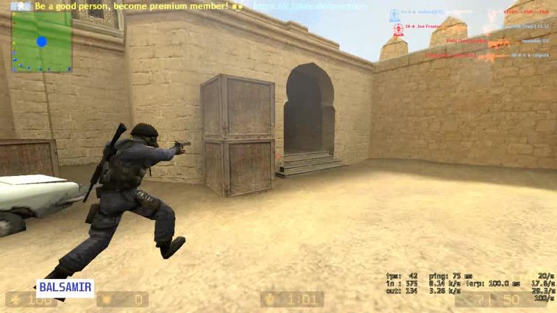 Counter Strike: Sourse TDM - frame 1| Утрений Lite Почему нет?