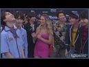 [Озвучка by Cara Linne] BTS Talks Love of Latin Pop and Show off BBMA 2018 Victory Dance