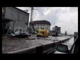 Потоп на дорогах после дождя