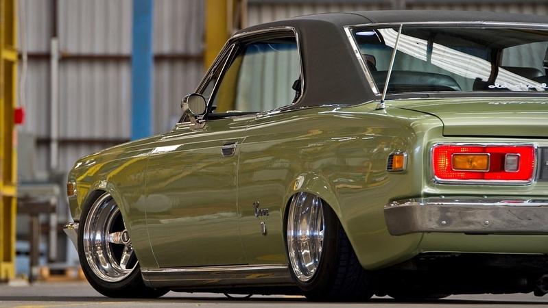 1969 Toyota Crown Hardtop 2.6 litre OHC inline six