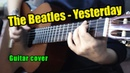Yesterday - The Beatles   На гитаре разбор