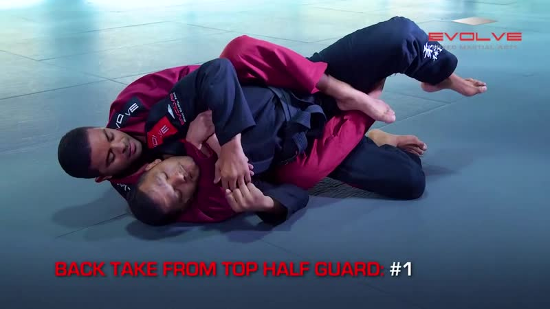 Valdir Rodrigues - 3 Back Takes From Top Half Guard