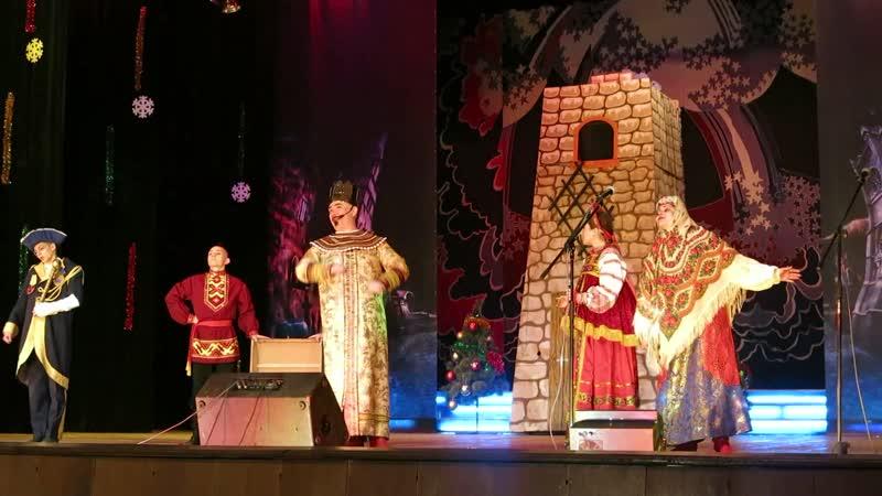 Радость великая Новогоднее театрализованное представление Как Вася за сказкой ходил Алчевск
