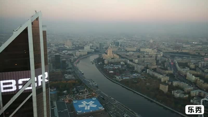 Смотровая площадка Москва Сити.