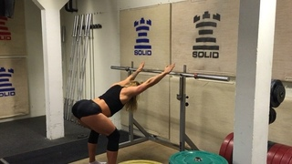 """John Singleton on Instagram: """"Good overhead positioning is obviously crucial in CrossFit.  This is a great exercise/test to see how your overhead p..."""