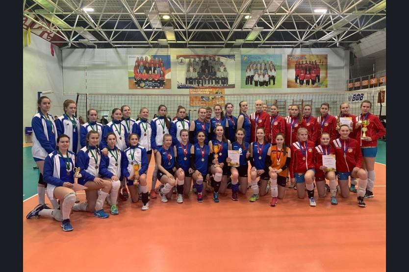 ервенство Сибирского федерального округа по волейболу «Надежда» среди девушек 2003–2004 гг.р.