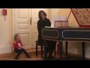 Лиса на концерте клавесин