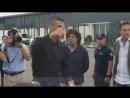 Роналду после медосмотра вышел к болельщикам