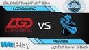 ESL Frankfurt Chinese Qualifiers (06.05.2014): Newbee vs LGD Gaming G2