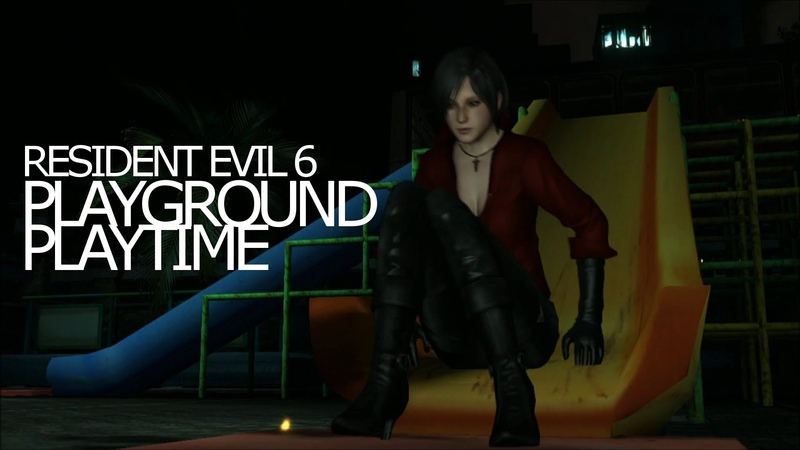 Playground Playtime with Ada Wong, Chris Redfield, Piers Nivans - Resident Evil 6