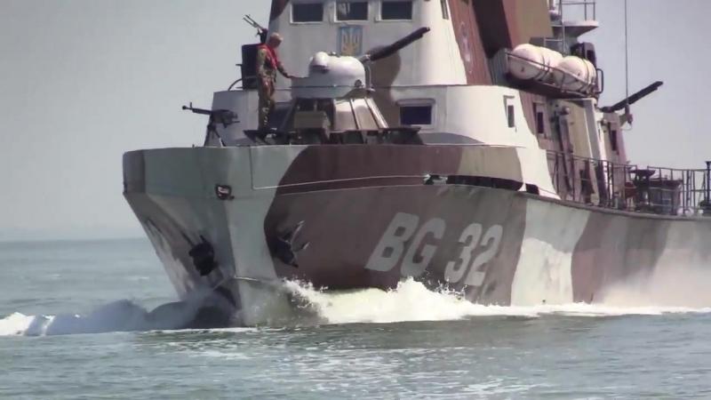 Моряки-прикордонники відпрацювали в районі Операції об'єднаних сил елементи бойової підготовки