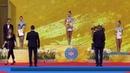 Две золотые медали начемпионате мира похудожественной гимнастике завоевала россиянка Дина Аверина Новости Первый канал
