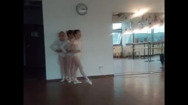 открытый урок балет