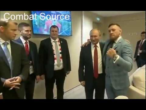Conor McGregor Meets Vladimir Putin - EXCLUSIVE VIDEO   World Cup 2018