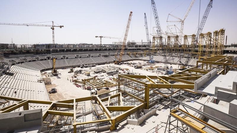 Al Rayyan Stadium Progress – June 2018