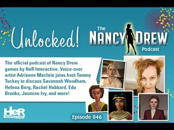 Unlocked! The Nancy Drew Podcast Episode 046