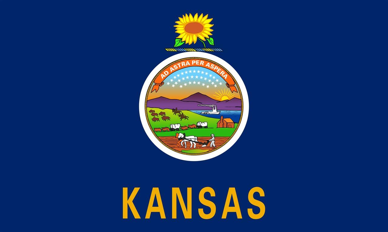 Флаг Канзас