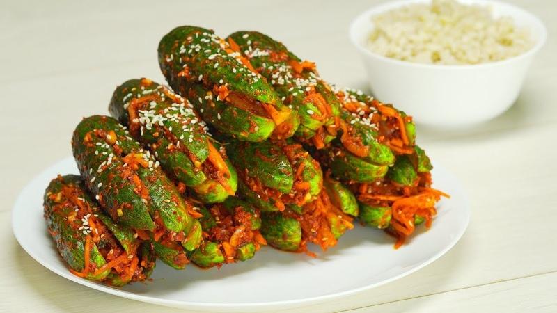 Огурцы по корейски Рецепт от Всегда Вкусно