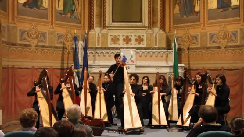 Celtic Harp Orchestra Brian Boru