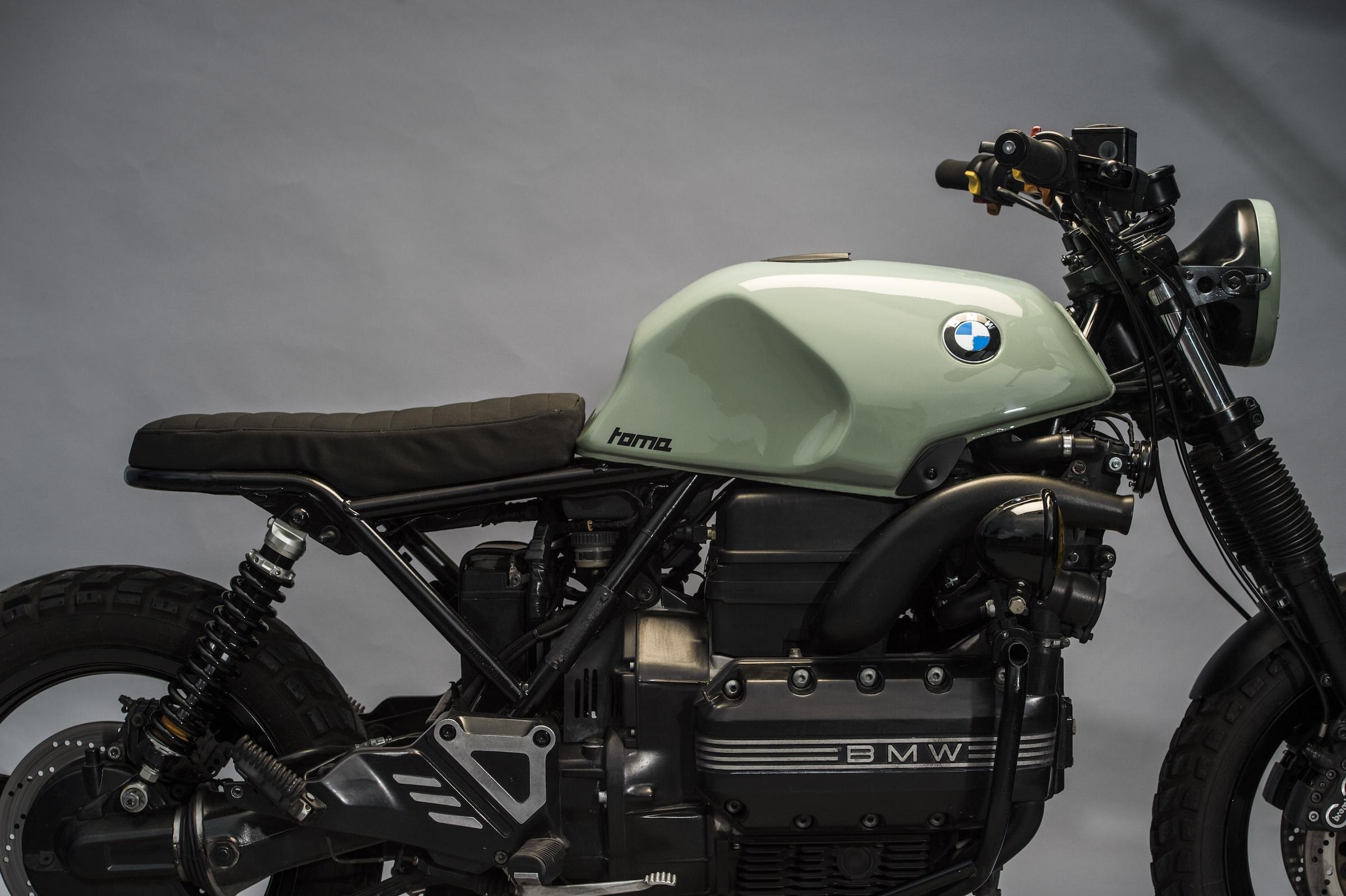 Toma Customs: кастом BMW K1100 Scrambler
