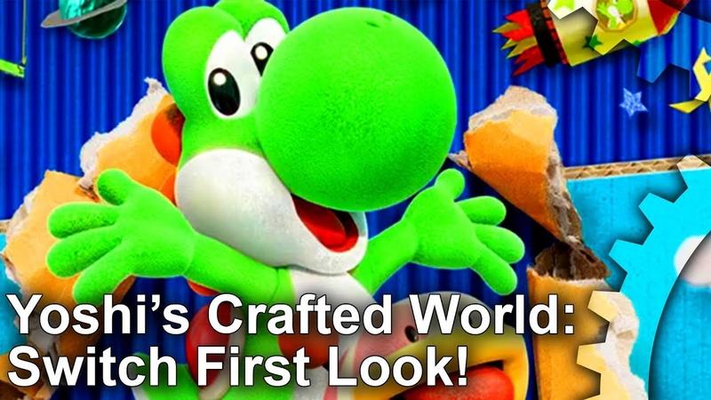 Yoshis Crafted World Unreal Engine 4... On A Nintendo Game