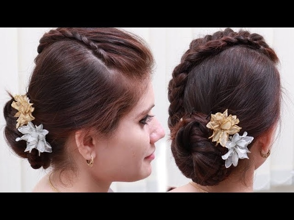 Easy Party hairstyle for girls - Hairstyles for long hair simple hairstyle 2019 hairstyles15