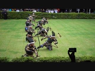 Атака японских лучников