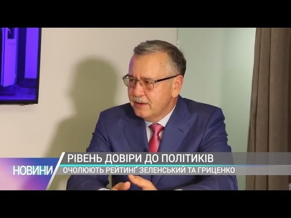 Гриценко очолює рейтинг політиків, яких хочуть бачити у Верховній Раді - соцопитування