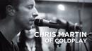Chris Martin of Coldplay O Alt Nation SiriusXM