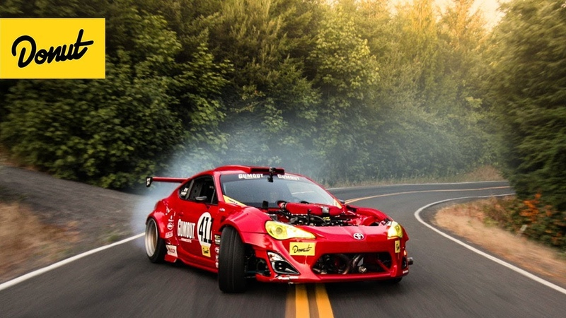 RIP GT-4586 Ferrari-Powered Toyota drifts a Portland Touge