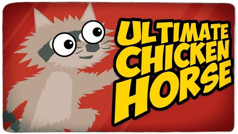 СИЛЬНО ГОРИТ ОТ УРОВНЯ МАЙНКРАФТ У БРЕЙНА И ДАШИ ● Ultimate Chicken Horse