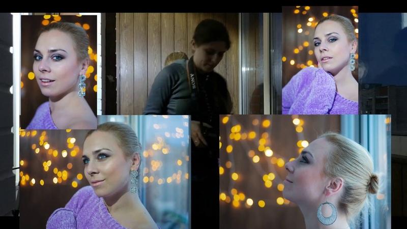 Классная фотосесия в домашних условиях с фонариками