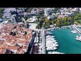 Будва (старый город), Черногория в 4k (Montenegro (old city), Budva in 4K)
