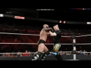 WWE 2K15 RAW Kintaro vs Smoke