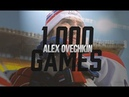 A tribute to Alex Ovechkin's 1,000th NHL game