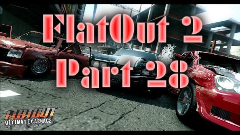 FlatOut 2 (PC) Walkthrough Part 28 Street Big Bang Cup [No Commentary] (720 HD)