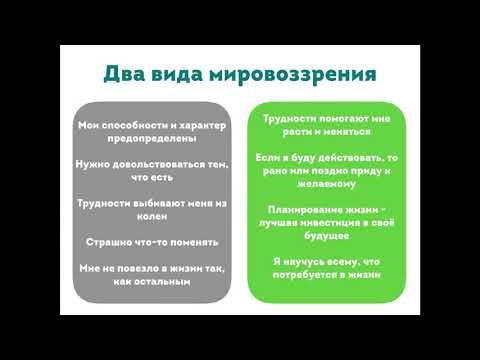 Урок 0. Тип мировоззрения - 1 часть. Теория