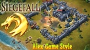 Siegefall EN - First look. Intro, Gameplay, Capturing Resources Android Strategy