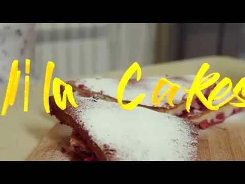 France I Clafoute Cake I Франция I Пирог Клафути
